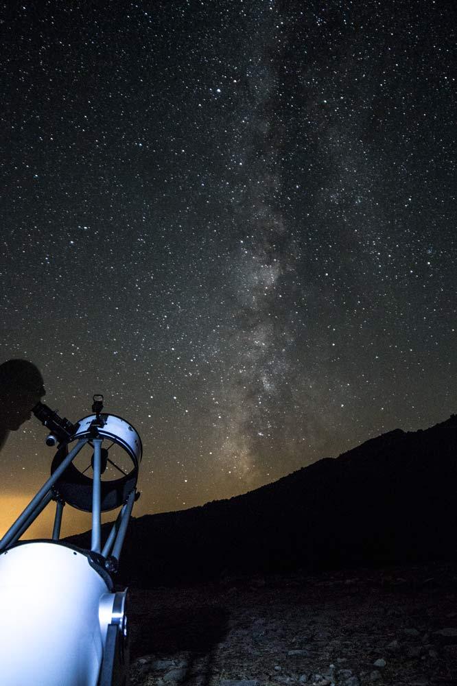 Tour guiado del cielo nocturno