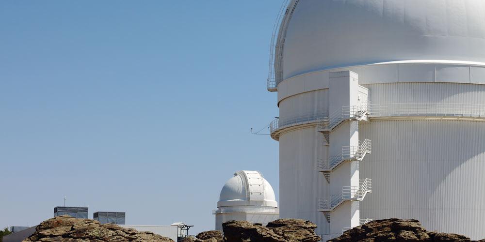 Visita el observatorio