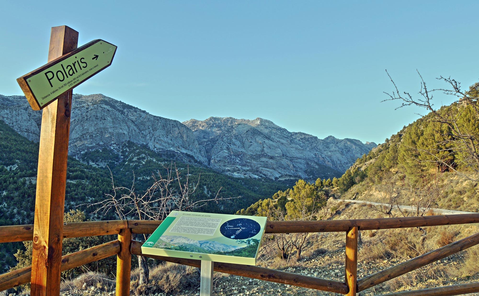 Trekking + interpretación del cielo en Sierra de Castril – 13 abril 2017